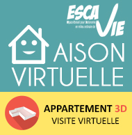 Visitez les appartements de la Maison ESCAVIE Virtuelle